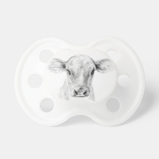 Moo A Young Jersey Cow Pacifier