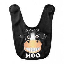Moo - Baby Bib Bib