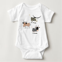 Moo Baby Bodysuit