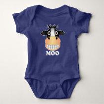 Moo - Baby Jersey Bodysuit Baby Bodysuit