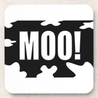 Moo! Beverage Coaster