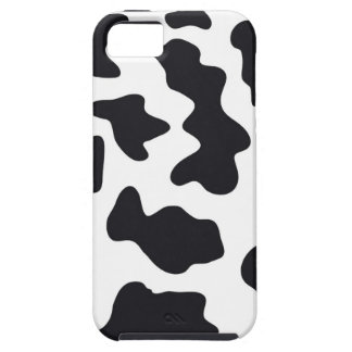 MOO Black and White Dairy Cow Pattern Print Gifts iPhone 5 Case