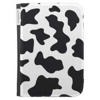 MOO Black and White Dairy Cow Pattern Print Gifts Case For Kindle