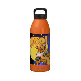 ¡MOO! Botella de agua