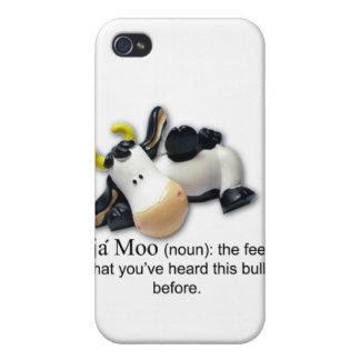 MOO Bull iPhone4 de Deja iPhone 4 Funda