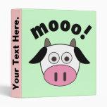 Moo Cow Avery Binder