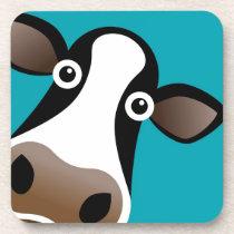 Moo Cow Beverage Coaster