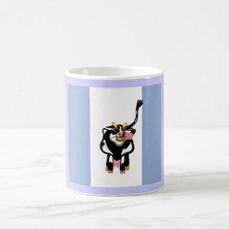 Moo Cow Blue Coffee Mug