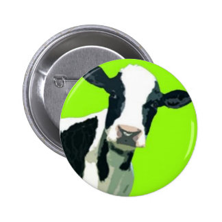 Moo Cow! Pinback Buttons