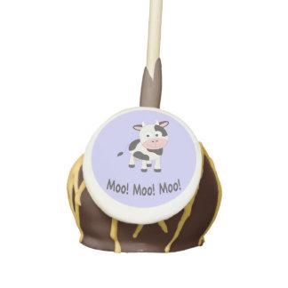 Moo cow cake pops
