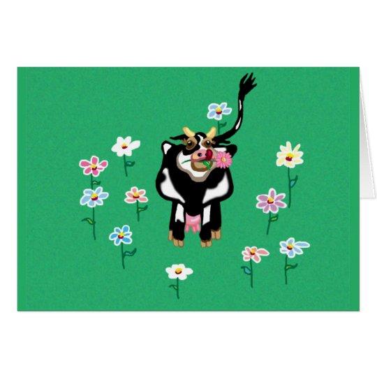 Moo Cow Card