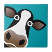 Moo Cow Ceramic Tile