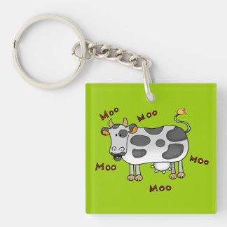 moo cow keychain