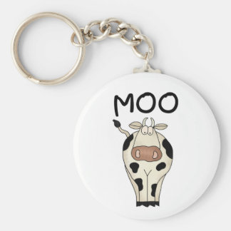 Moo Cow Keychains