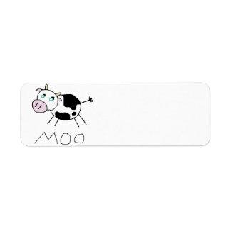 Moo Cow Label
