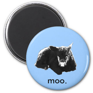 """""""Moo"""" cow Magnet"""