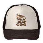 Moo Cow Mesh Hats