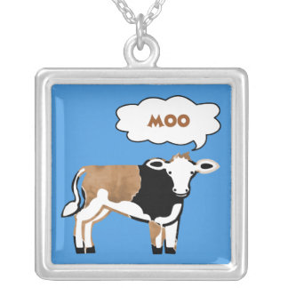 Moo Cow Necklace