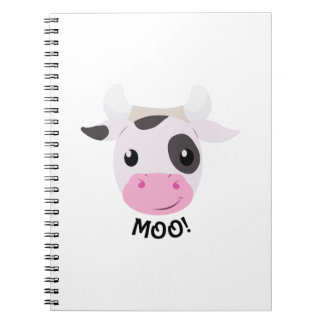 Moo Cow Note Books