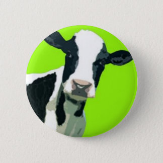 Moo Cow! Pinback Button