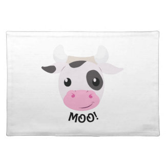 Moo Cow Cloth Place Mat