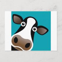 Moo Cow Postcard