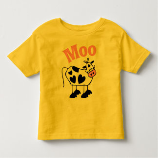 Moo Cow Toddler T-shirt