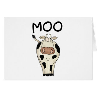 Moo Cow Tshirts and Gifts Card