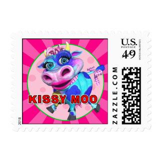 """MOO de """"GiggleBellies"""" Kissy el sello de la vaca"""