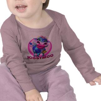 MOO de GiggleBellies Kissy la vaca Camiseta