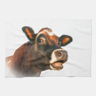 MOO de la vaca de Jerse Toalla