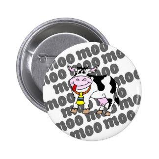 MOO de la vaca Pin