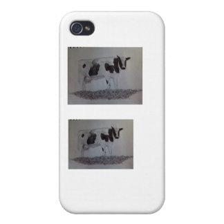 MOO de las vacas… iPhone 4 Carcasa