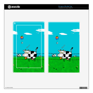 Moo Decals For Kindle Fire