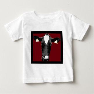 moo deep red t-shirt