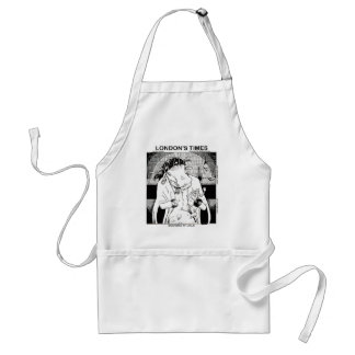 Moo Doo Rituals New Orleans Cow Funny Gifts Adult Apron