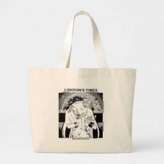 Moo Doo Rituals New Orleans Cow Funny Gifts Large Tote Bag