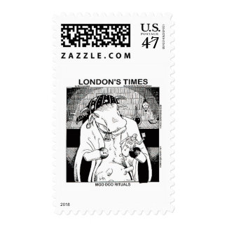 Moo Doo Rituals New Orleans Cow Funny Gifts Stamp