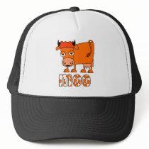 Moo - Ginger Cow Trucker Hat