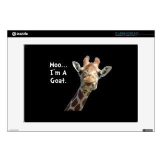 Moo Giraffe Goat Skin For Laptop