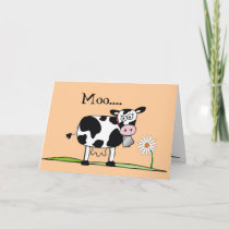Moo-Happy Mudders Day Card