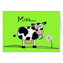 Moo-Happy Mudders Day Card