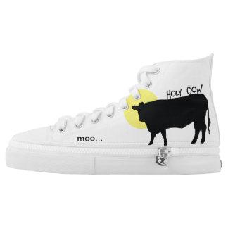 Moo High-Top Sneakers