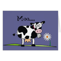 Moo.....Hope you have a Happy Fathers Day Card