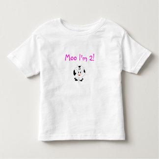 Moo I'm 2! Tee Shirt