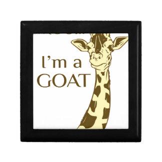 moo im a goat keepsake box