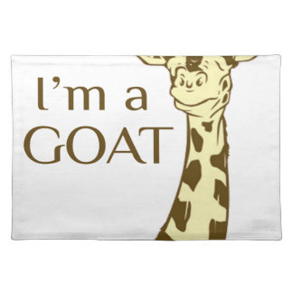 moo im a goat placemat