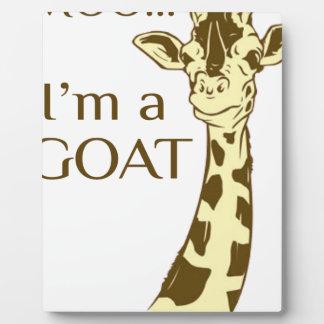 moo im a goat plaque