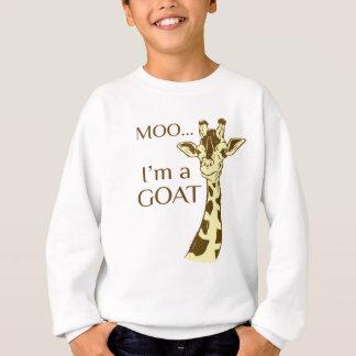 moo im a goat sweatshirt