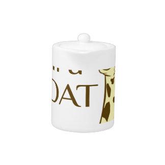moo im a goat teapot